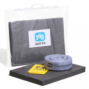 PIG® 15 L Universal Spill Kit in a Clip-Close Bag