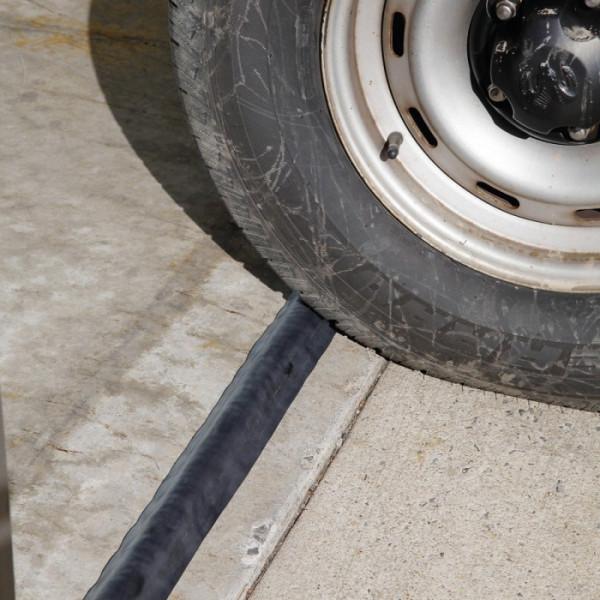 Pig Drive Over Leakblocker Dikes Spill Barriers Drain